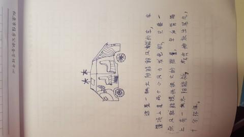 节约能源大作战_张诗迪的作品