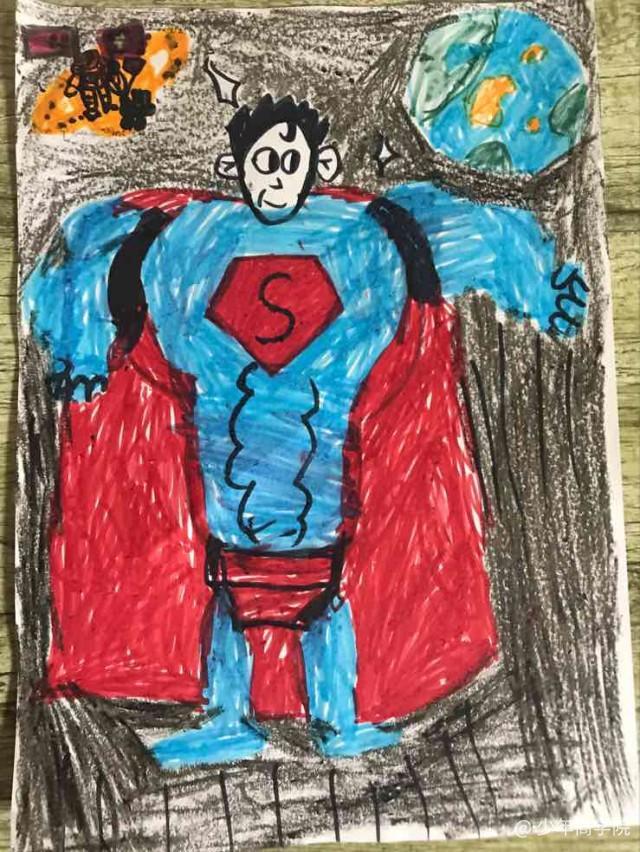 宇宙星球儿童画画图片大全