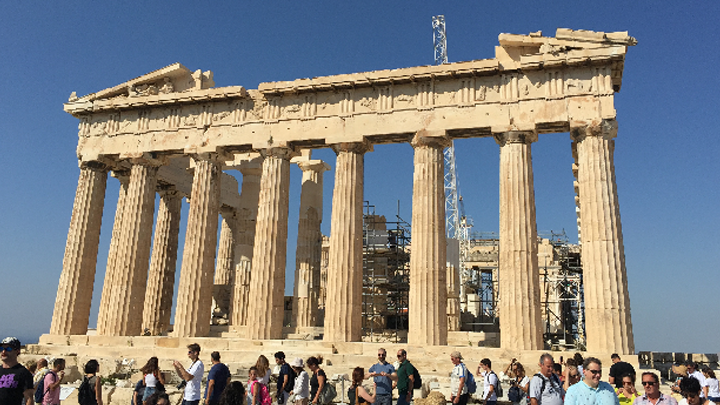 第一讲:雅典卫城帕特农神庙——古典瑰宝多劫难